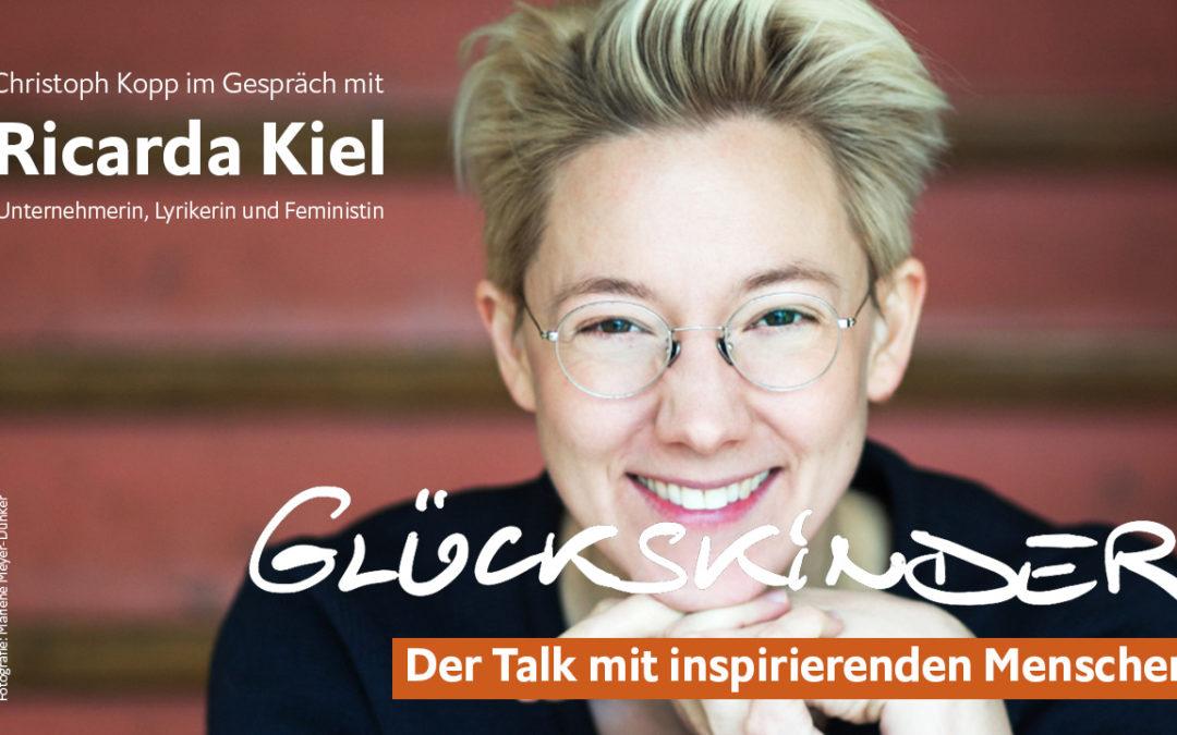 Ricarda Kiel im Glückskinder Talk – ihr Weg zur sozialen Unternehmerin und Lyrikerin