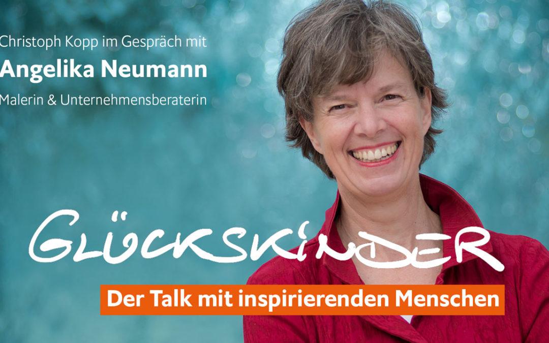 Angelika Neumann im Glückskinder Talk – Eigene Ideen mit Mut Leben