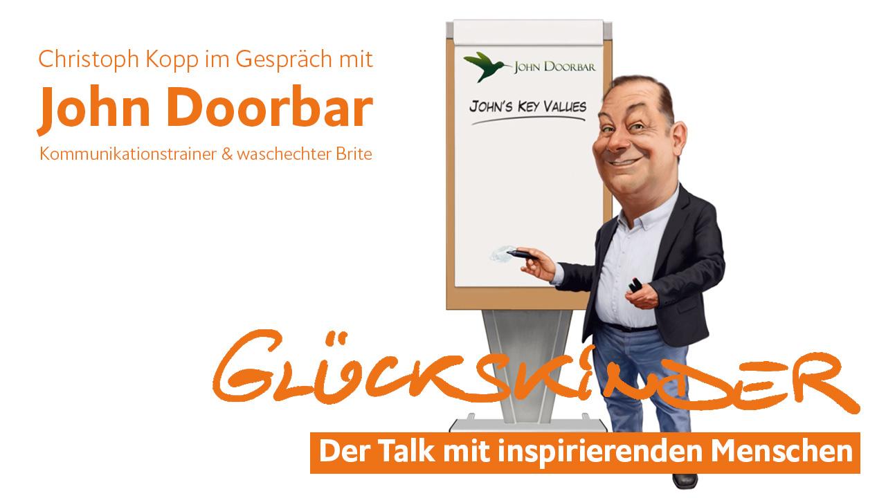 John Doorbar im Glückskinder Talk mit Christoph Kopp